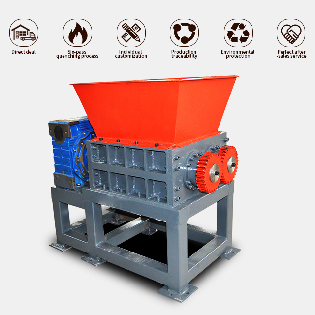 Chinese factory garden waste shredder farming machine