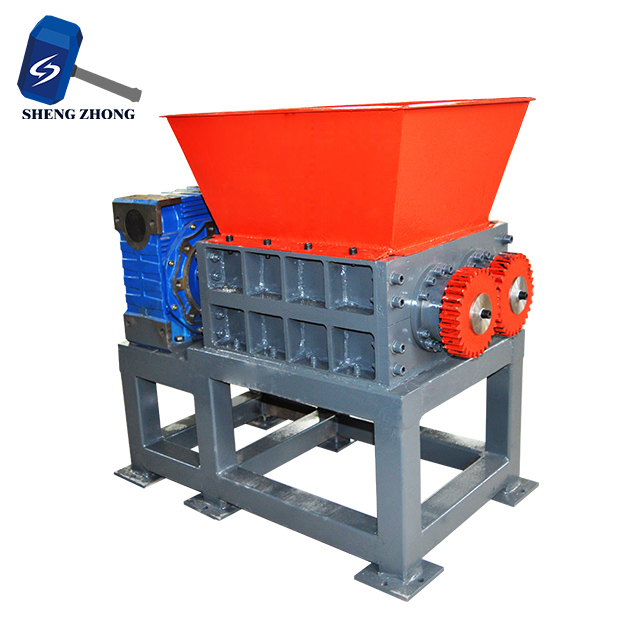Double Shaft Shredder Machine For Shredding Used Scrap Metal
