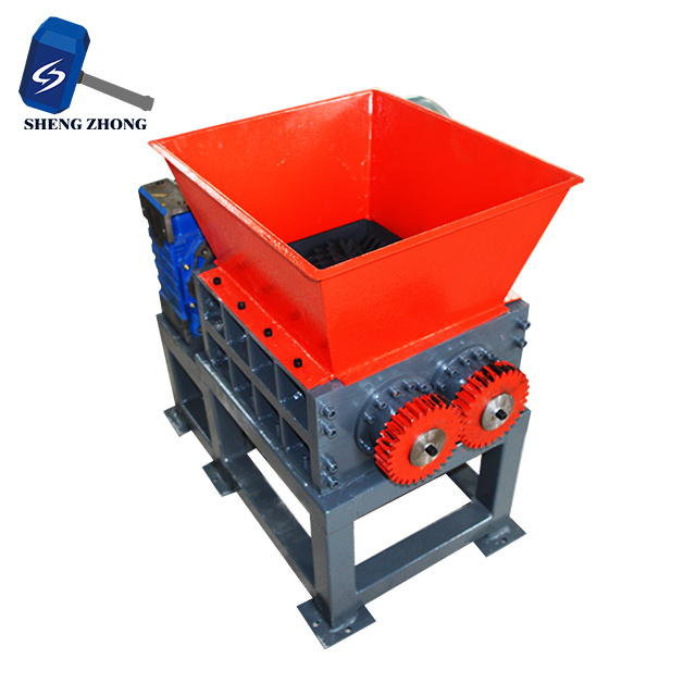 plastic shredder factory price HDPE LDPE PP ABS PE Plastic Crusher Shredder Waste Plastic Crusher Machine