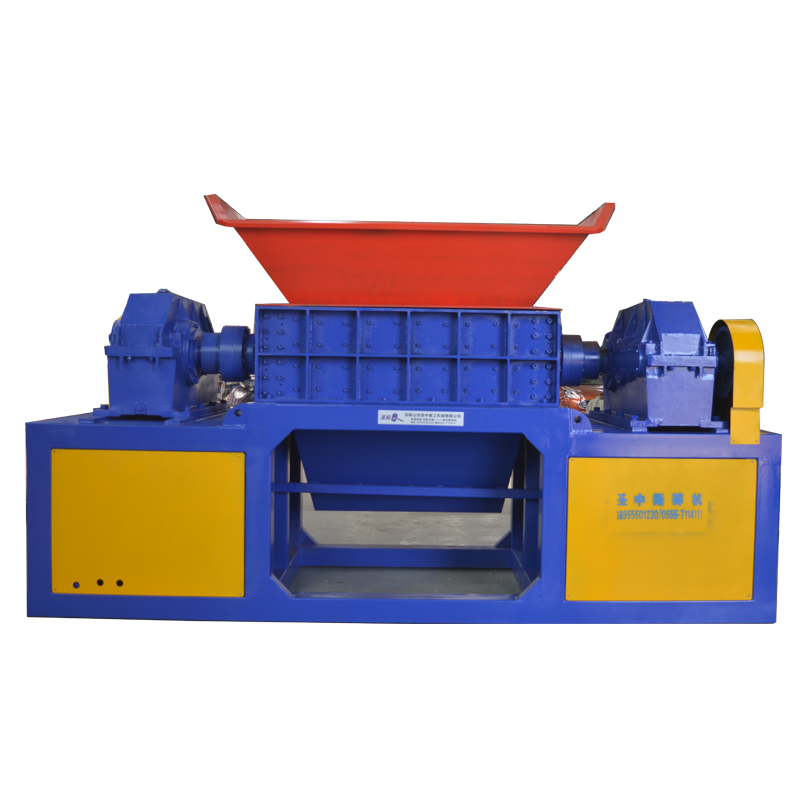 Factory used industrial paper medical waste shredder machine