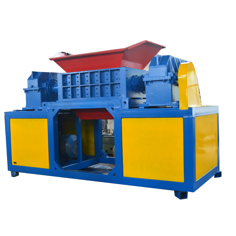 Best heavy duty used car tire waste carton metal scrap shredder machine for sale
